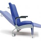 Sección de piernas y respaldo reclinables